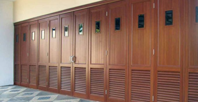 Panel Pintu Garasi