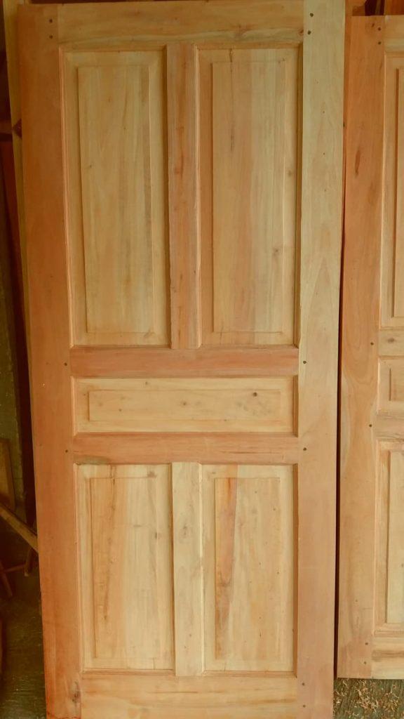 pintu rumah kayu mahoni