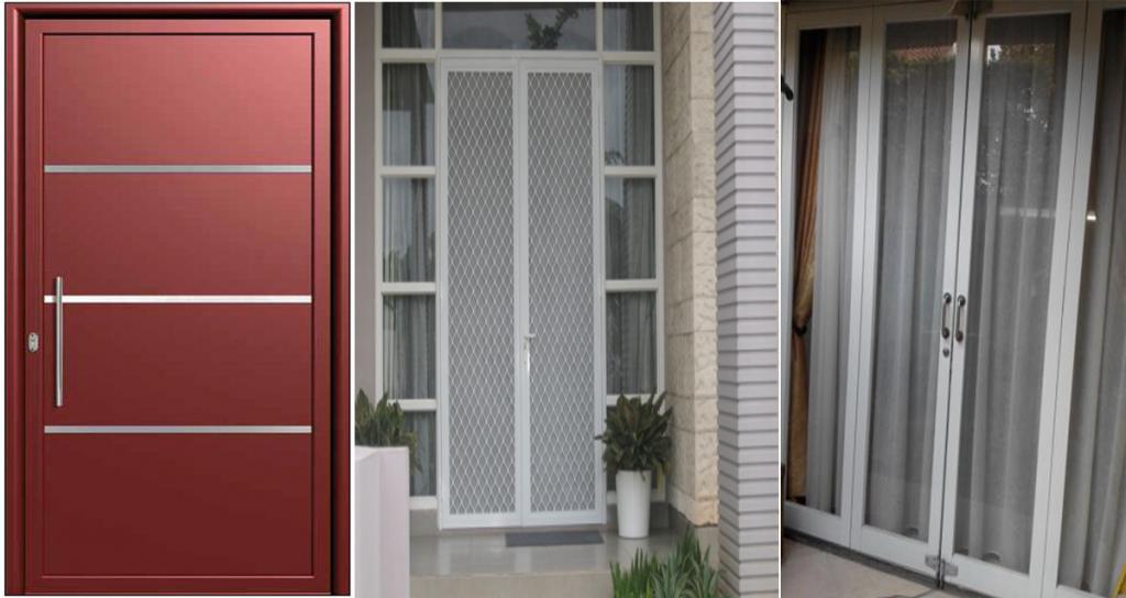 Pintu Rumah Aluminium