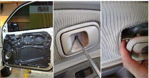 Merawat Panel Pintu Mobil